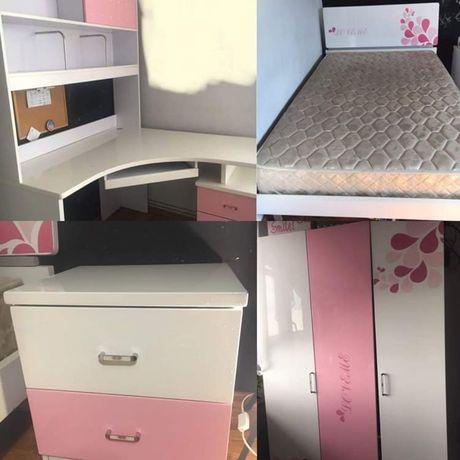 Szafa,biurko,łóżko, szafka nocna