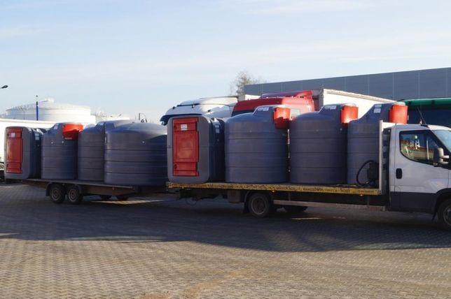 KĘPNO Dwupłaszczowy zbiornik na paliwo 2500l Sibuso