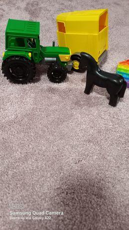 Трактор с прицепом Вадер wader