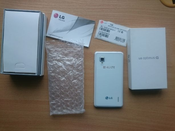 LG Optimus G Telefon Smartfon Box Pudełko 4G LTE 2GB