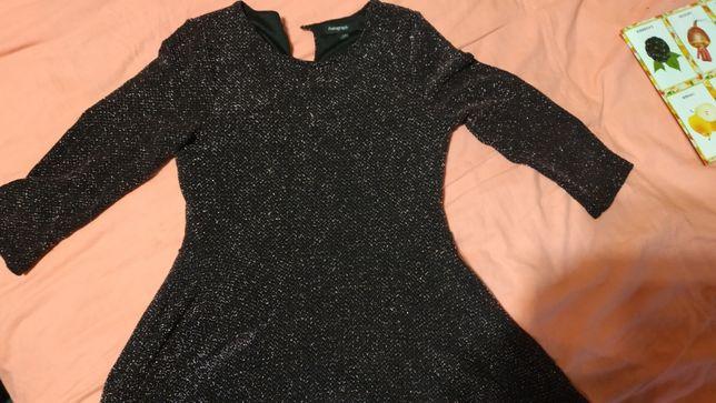 Платье с люрексом Autograf, на 7-8 лет, б/у