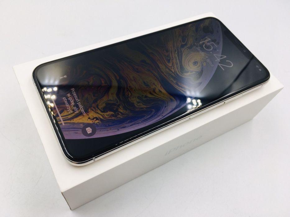 iPhone XS MAX 64GB SILVER • NOWA bateria • GW 1 MSC • AppleCentrum Wrocław - image 1