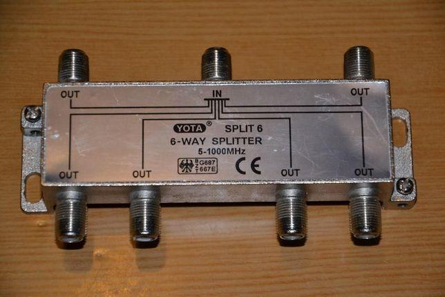 Делитель телевизионного сигнала Split Sx6 CE YOTA