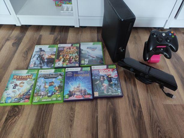 Xbox 360 + Kinect + 2pady