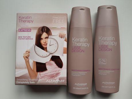 Keratin Therapy zestaw do prostowania włosów +gratis
