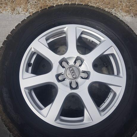 Komplet kół Audi z oponami zimowymi 17
