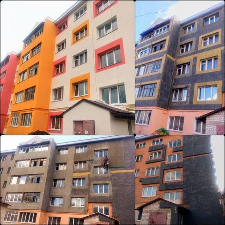 Утепление фасадов   Верхолазные работы   Кровля балконов