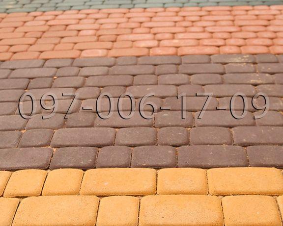 Тротуарная плитка от производителя - Бордюр - Доставка - Укладка