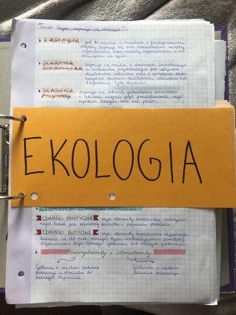 Segregator notetek z biologii rozszerzonej