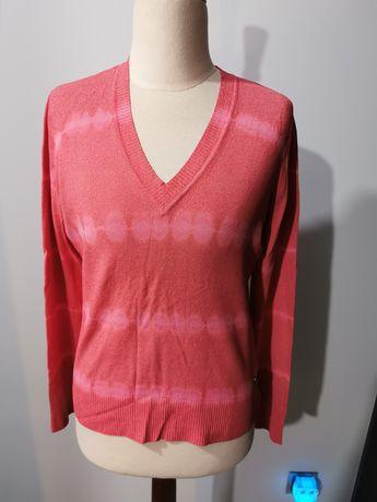Sweterek w serek Tommy Hilfiger, rozmiar m 38