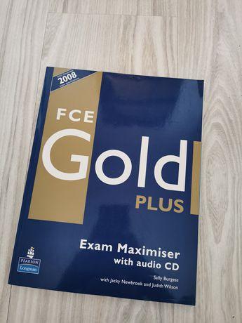 FCE gold plus Exam Maximiser Książka First Certyfikat CD