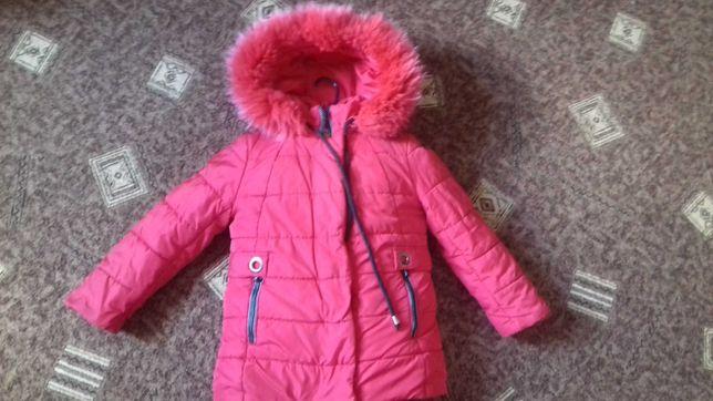 Куртка зимова Зимняя куртка на девочку