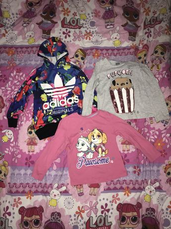 Вещи на девочку,кофты,юбка,футболка
