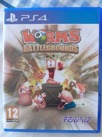 Jogo Worms Battlegrounds PS4