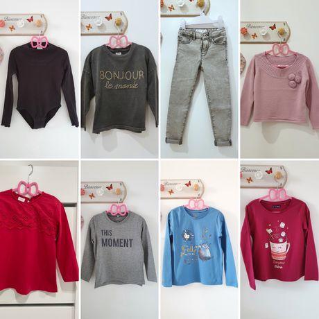 Zestaw 116-122  Zara, H&M, Cool Club,  Name it