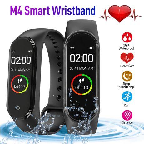 РАСПРОДАЖА + ПОДАРОК Фитнес-браслет M4 смарт часы (Xiaomi Mi Band 4 5)