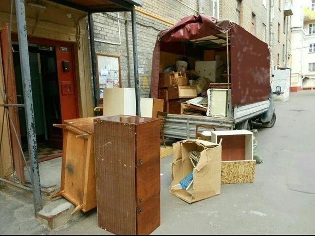 Газель.Зил.Камаз.Вывоз строй-мусора,хлама,старой мебели,грунта,веток.