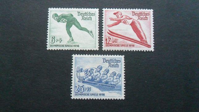 1935-43 РЕЙХ Зимняя Олимпиада-36 (серия) (КЦ - 65 €) MNH**
