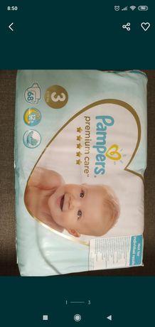 Pampers Premium Care 3, 68шт