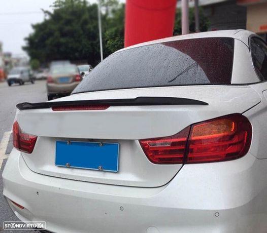 SPOILER TRASEIRO/LIP LOOK M4 PRETO BRILHO PARA BMW SERIE 4 F33 (13-18)CABRIO