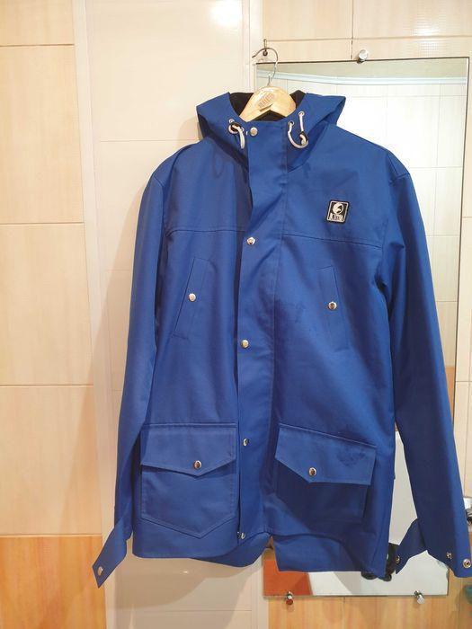 Мужская куртка на флисе,куртка синяя мужская,куртка повседневная осень Днепр - изображение 1