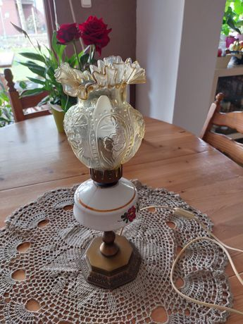Stara lampa ceramika prl