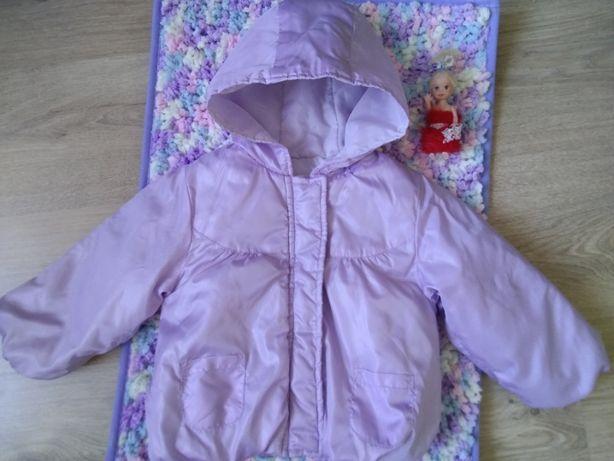 нежно сиреневая курточка на девочку 1,5 годика куртка