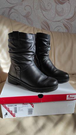 Зимові шкіряні черевики Rieker
