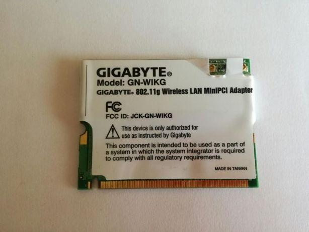 Placa Wireless Gigabyte para pc portátil AIRIS 8050d