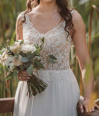 Suknia ślubna - kolor Ivory