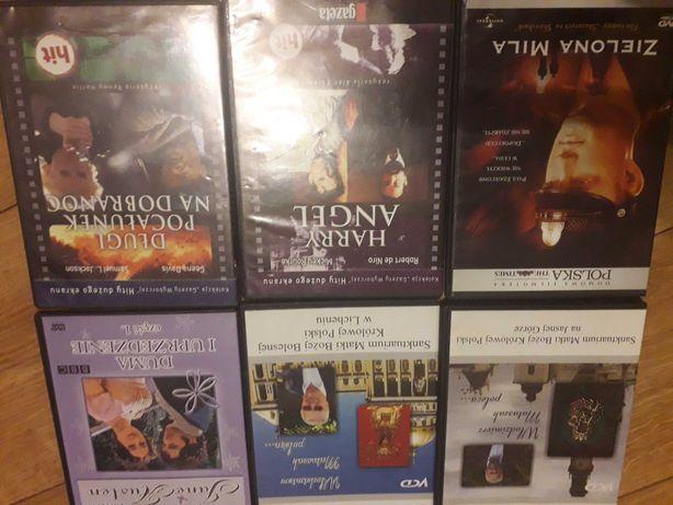 Płyty z filmami i naukowe