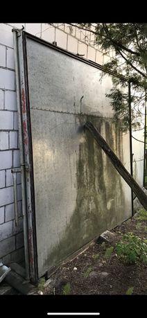 Drzwi garażowe do chłodni izolowane garaż chłodnia
