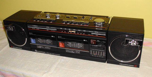 "Radiomagnetofon ""Electronics"", lata 80-te."