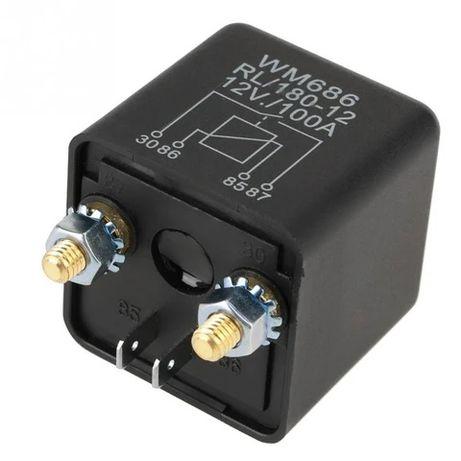 Relé 100 Amps Bateria auxiliar autocaravana