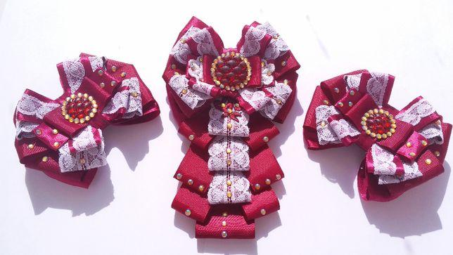 Банты, галстук, украшения ручной работы