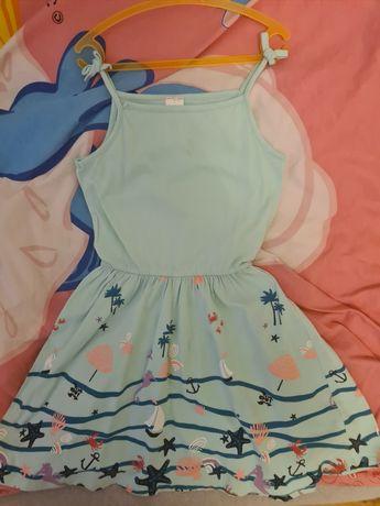 Sukienka letnia dla dziewczynki C&A rozm.122