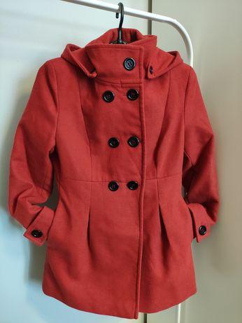 Damski flauszowy ciepły płaszcz M 38