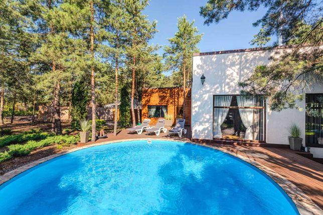 Дом в лесу с баней, чаном, беседками 50 м. от реки. Аренда посуточно.
