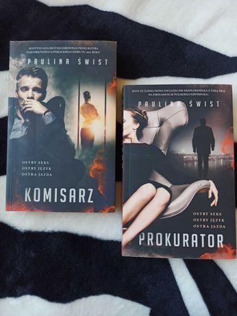 "Książka "" Komisarz"" i "" Prokurator"""