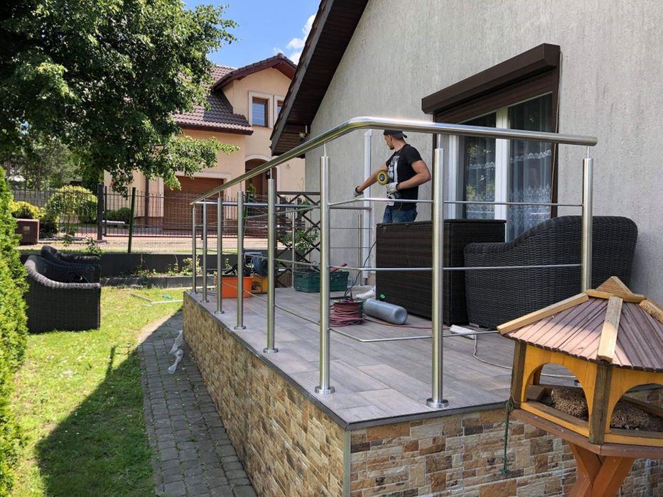 180zł Balustrada balkonowa schodowa balkon balustrady najtaniej jakość Dąbrowa Górnicza - image 1