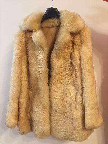 Casaco em Pele de Urso da Sibéria (genuíno)