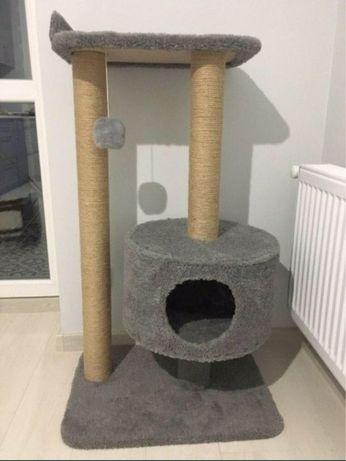 Когтеточки для котов. Когтедралки с домиком для кошек