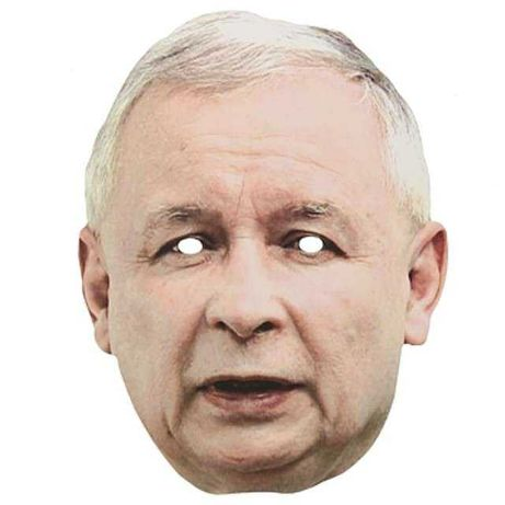 HIT Polityczna maska Jarosław Kaczyński HIT