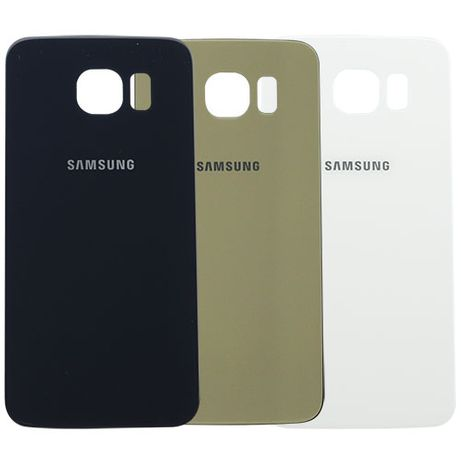 Tampa traseira em vidro para Samsung Galaxy S6 Edge e S6 Edge Plus