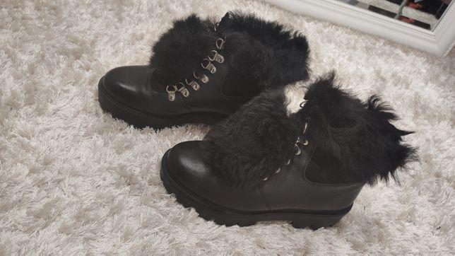 Ботинки на меху Respect