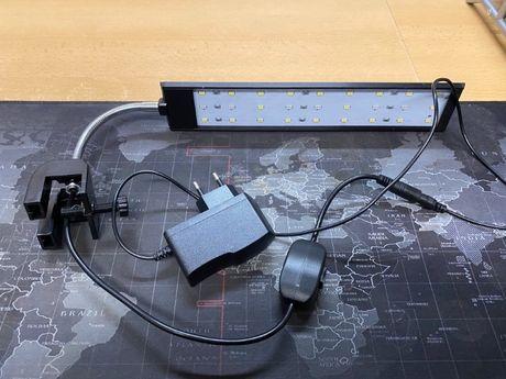 Lampka LED do Akawrium 30 cm NOWA + Zasilacz