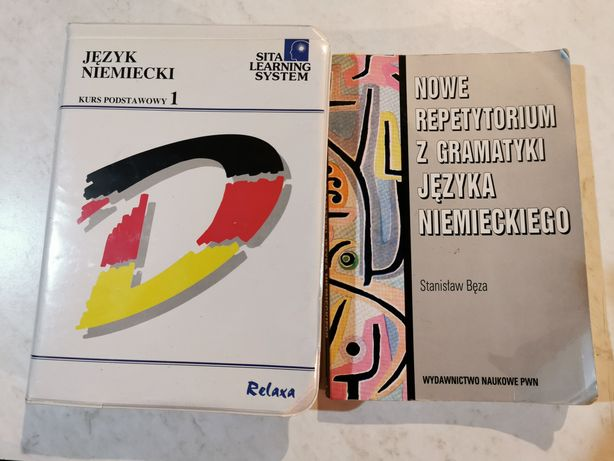 Zestaw do nauki języka niemieckiego kasety + książka