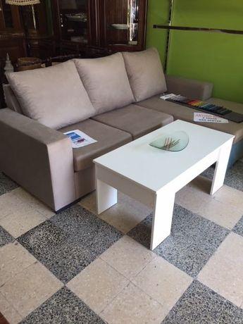 Sofá c/chaiselongue (várias cores) (Artigo Novo)