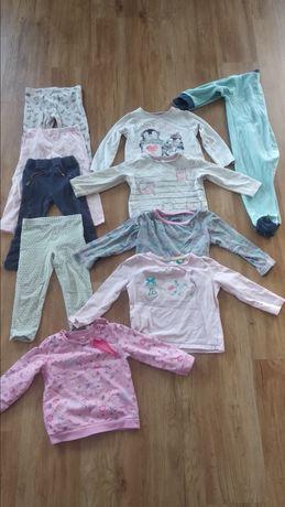 Ubrania dla dziewczynki, r.80