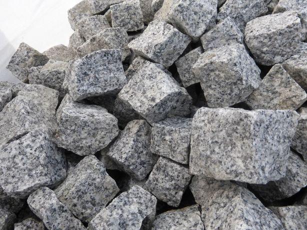 Kostka Granitowa Grys Granitowy GRANIT Ogrodowy Murowy Gabion Kamień